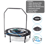 Maximus Pro Mini Trampoline Package