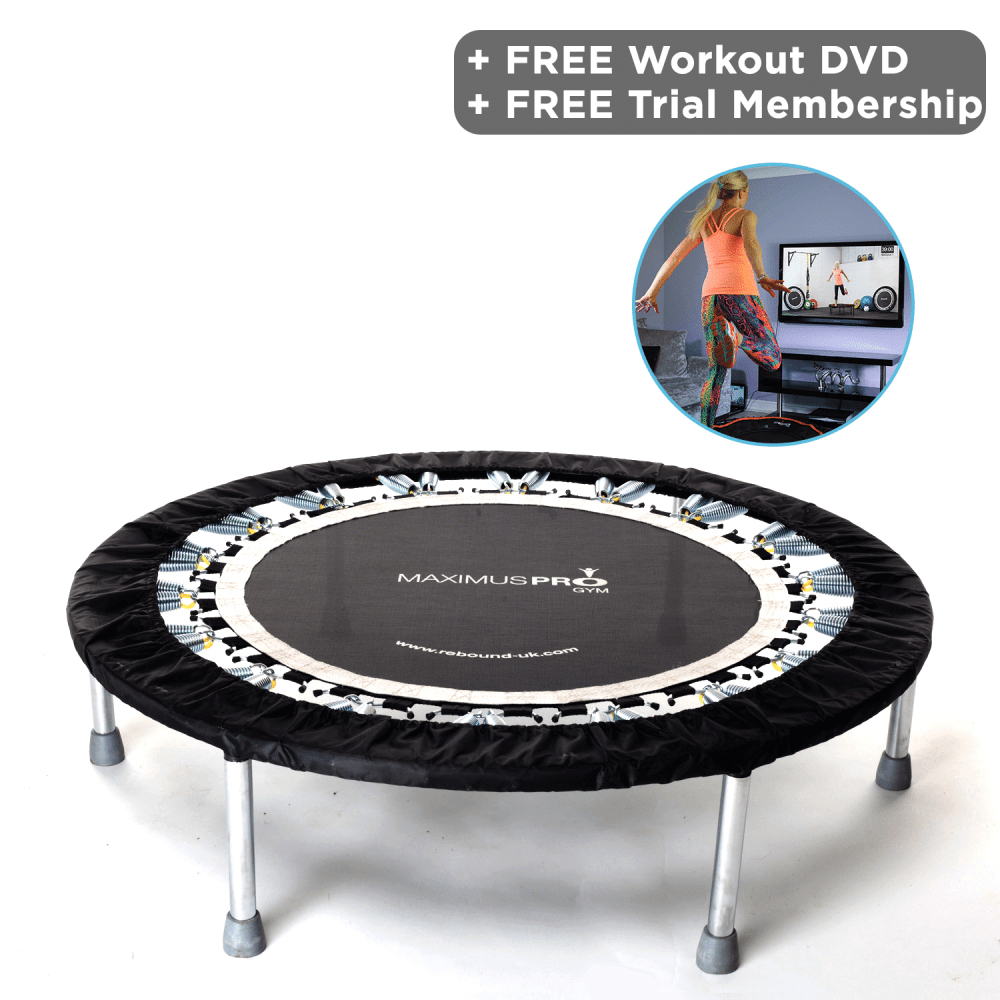 Pro Gym Mini Trampoline Package