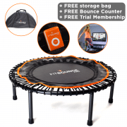 Fit Bounce Pro Mini Trampoline Package