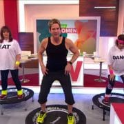 ITV's Loose Women love Rebounding!