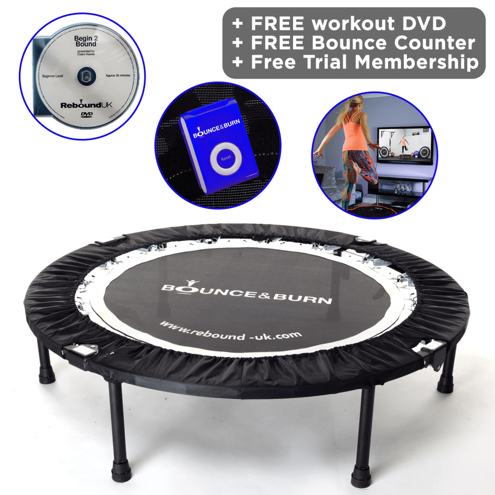 Bounce & Burn Mini Trampoline Package