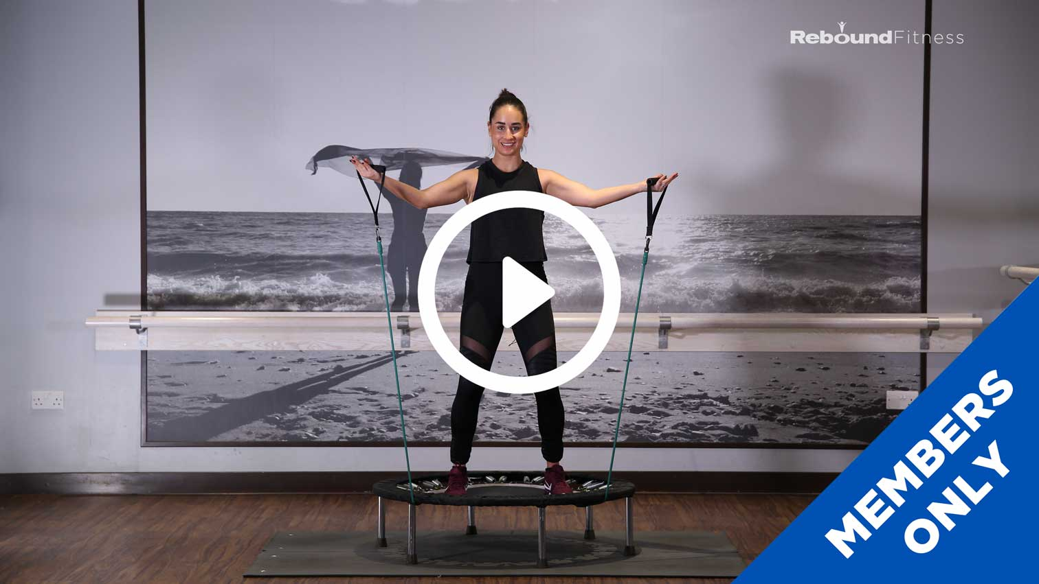 Rebound Cardio & Resistance Bands - Screen Grab