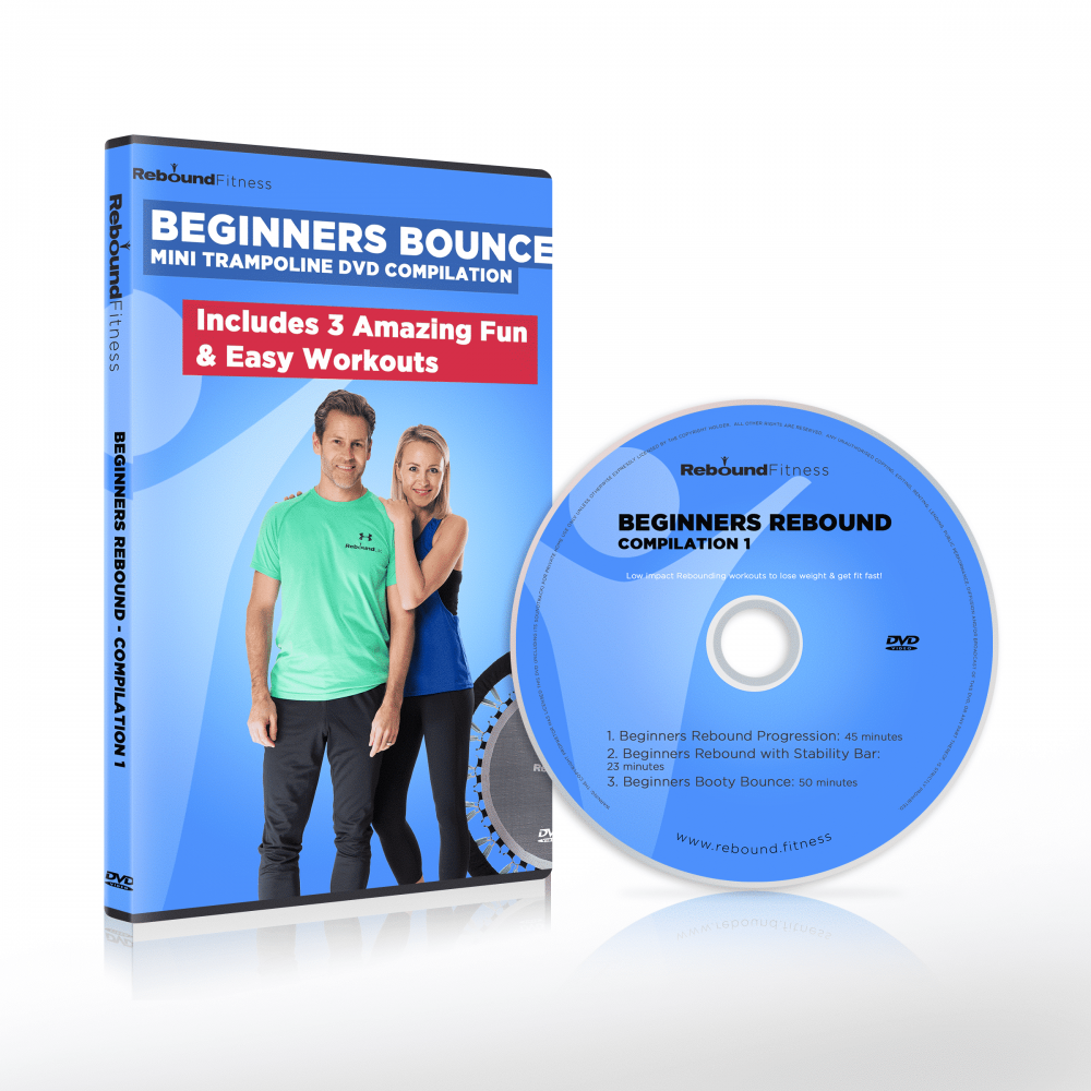 Beginner's mini trampoline workout dvd